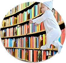Libreria In Biblioteca Zerbino Rotondo Lavabile