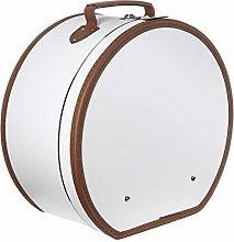 Lierys Cappelliera rotonda bianco crema - 40 x 21