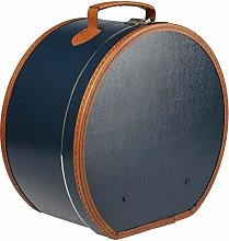 Lierys Cappelliera Rotonda Blu - 40 x 21 cm - con