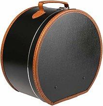 Lierys Cappelliera rotonda nero - 40 x 21 cm - con