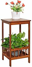 lifebea - Vaso per piante a 2 livelli, in bambù,