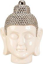 Lifestyle & More Scultura Moderna Testa di Buddha