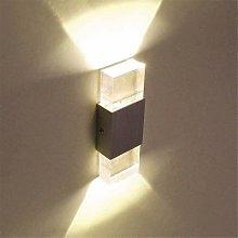 Lightess 6W Lampada da parete a LED Lampada da