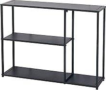 LILAODA Modern semplicità Consolle Tavolo Black