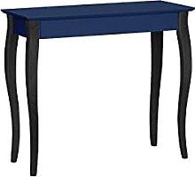 LILLO - Tavolo consolle da parete in legno di
