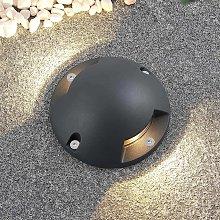 Lindby Huban lampada LED da terra, 2 luci