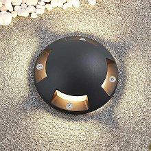 Lindby Huban lampada LED da terra, 4 luci