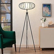 Lindby Korbinian lampada da terra con treppiede