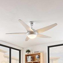 Lindby Ranja ventilatore da soffitto lampadina R7s