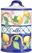 Linea Limoni Ceramica Stoneware Barattolo da
