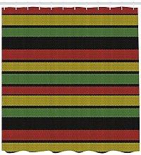 Linea Rasta lavorata a maglia giamaicana Tenda da
