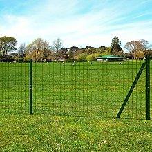 Lingjiushopping Set di recinzione Euro-25 x 1,7 m