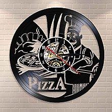 LINMING Horloge murale en vinyle Orologio da