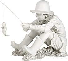 LiNMNM Giardino gnomo statua gnomo giardino