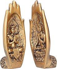 linxiaojix Statua di Buddha, Scultura Buddista