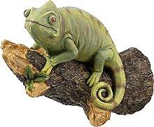 LISAQ Chameleon On The Tree Scultura Figura
