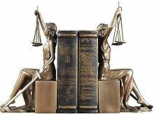 LISAQ Decorazione Domestica Europea Dea Giustizia