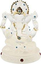 LISAQ Ganesha Buddha Elefante Figurina Statua