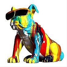 LISAQ Nordic Creative Graffiti-Art Bull Dog