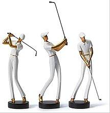 LISAQ Statuetta Statuetta Golf Genius Scultura