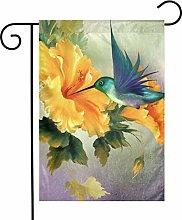 Little Hummingbird - Bandiere da giardino per