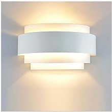 LITZEE Applique a LED Design semplice Applique da