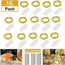 LITZEE Confezione da 15 lampadine LED per