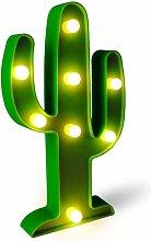 LITZEE LED Cactus Light, luce decorativa per