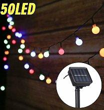 LITZEE String Lights Outdoor Solar String Lights