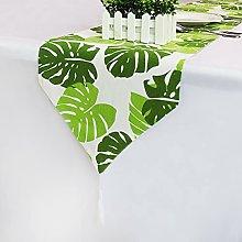 LIUJIU Home Tovaglia decorativa in lino di cotone
