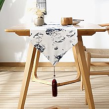 Liujiu - Tappeto da tavolo in bambù intrecciato