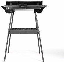 LIVOO DOM297G - Barbecue elettrico su piedi