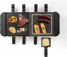 Livoo - Set per raclette griglia 8 persona DOC222