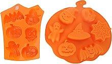 LIZHILIAN Stampo per torta di Halloween in