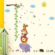 LIZHIOO Diagramma di Altezza dei Bambini, Scimmia