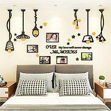 Lizp Moderno Creativo Photo Wall con Lampadario