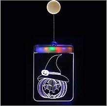 LJWLZFVT Lampadario 3D di Halloween, Luce per