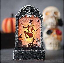 LJWLZFVT Lapide del cimitero a LED di Halloween