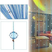 LNIMIKIY Tenda con perline, design a goccia, utile