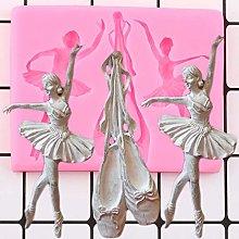LNOFG Ballerine Stampo in Silicone Ballerina