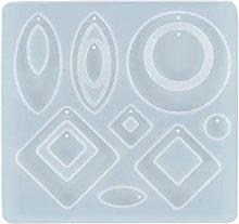 Lo stampo in silicone per orecchino a forma di