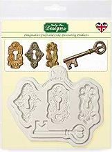 Locks and Key - Stampo in silicone per decorazione