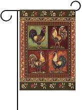 LORONA 'Bandiera da Giardino con Gallo di