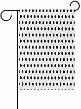 LORONA - Bandiera da giardino a pois bianchi su