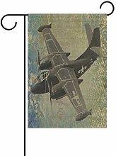 LORONA - Bandiera da giardino per aereo su