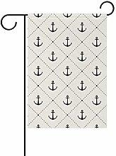 LORONA - Piccola bandiera da giardino verticale,