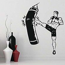 Lotta Sport Adesivo Kickboxer Boxing Club Palestra