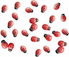 Lotto di 100 decorazioni in resina in miniatura