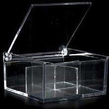 Lotto pezzi 10 Bomboniera scatola plex con