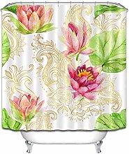 Lotus foglia di loto inchiostro pittura semplice